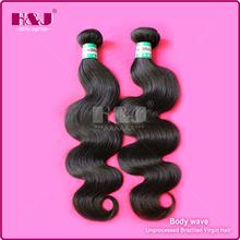 Factory Direct Price H&J Cheap Body Wave Virgin Brazilian Hair