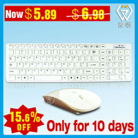 Time-Limited Combo 2.4G ultra-thin chocolate keyboard and mouse combo