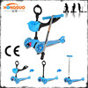 3 in 1 mini kick scooter Dual Pedal 3 Wheel kid scooter