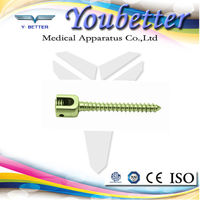 Spine Pedicle Screw. orthopedic implants and instrument made in China