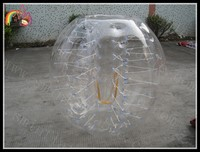 new design durable inflatable human bumper ball,human bubble suit, inflatable ball suit