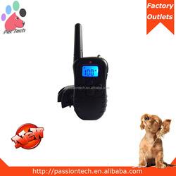 Pet-Tech M998 hot electric shock training anti bark dog collar, remote anti-bark collar in backlight