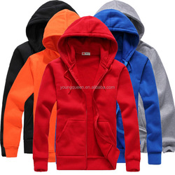 TD51 500g white zipper sweater wholesale thick hoodies