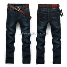 Fashion high quality Men's straight jeans size plus trousers Casual pants B pants casual pants, skinny trousers,ripped jeans men