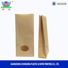 Seed Packing Bag Plastic and Kraft Paper bag with window