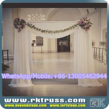 RK wedding backdrop poles/wedding chuppah/wedding drapery rental/pipe and drape knits sale