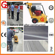 traffic paint removal or road thermoplastic removal machine