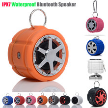 IPX7 waterproof bluetooth outdoor speaker 5w with mic handsfree functions external speaker for mobile phone cellphone