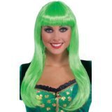 St. Patrick's Day 100th east asia hair doll black hair wig