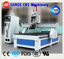 One time finish Engraving Cutting easy operator SG-1325 row type atc woodworking cnc router