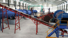 palm oil tree fertilizer granulation production line