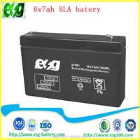 Security system 12v7ah Solar battery maintenance free AGM battery