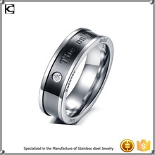 For lovers spikes stainless steel ring My Love ring