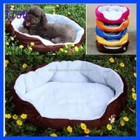 Pet Puppy Cat Soft Fleece Cozy Warm Nest House Cotton Mat Dog Bed