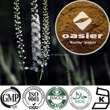 100% pure nature black cohosh extract 2.5%-8% Triterpene Glycosides