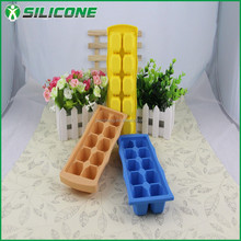 Family Chef Soft Silicon Ice Cube Trays with Multi Color