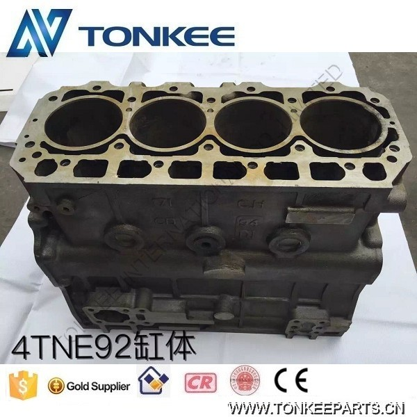 4TNE92 engine block 4TNE92 cylinder block for YANMAR