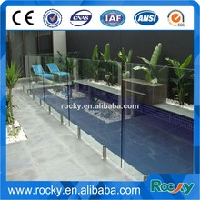 SELL 4/5/6/8/10/12mm tempered glass fence panels high quality glass fence