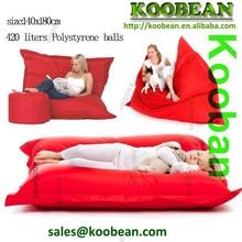 Giant Beanbag RED - Indoor & Outdoor Bean Bag - MASSIVE 180x140cm - GREAT for Garden