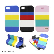 High quality PU leather case for iPhone, for iPhone cover