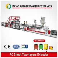 double screw extruder for PC material - YX-22P