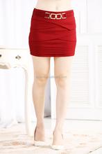 2015 nuevas mujeres forman Short básico mini falda corta moda chicas Ultra falda corta
