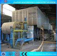 1760mm 20-30T/D Craft Paper Machine Manufacturing Company, Recycle Carton Making Machine