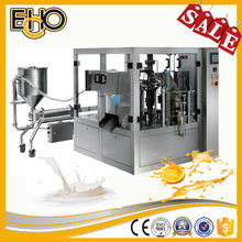 High accuracy with liquid mixing device counting stainless full automatic rotary Cardamom Oil Form-fill-seal package machine
