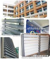 Modern decoration exterior aluminium louver and shutters
