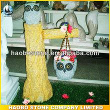 stone eagle sculpture for garden landscape