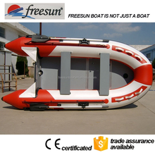 Cheap inflatable boat for fishing China for sale