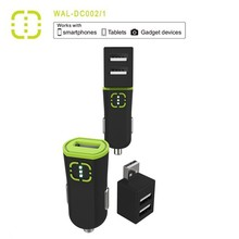 universal 5V/3.4A car charger usb two output