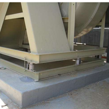 special cement as agent for steel column with the base fixed connection used CGM groutrapid hardening