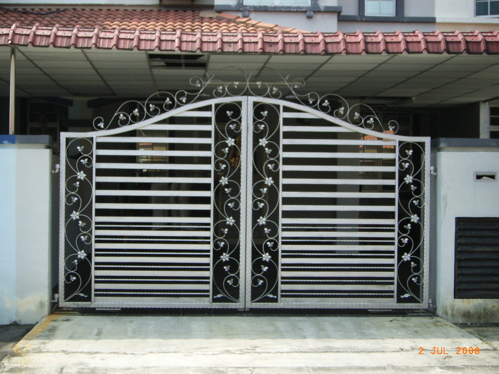 House Different Steel Slide Iron Main Gate Designs - Buy Used ...