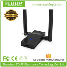 Factory supply EDUP 1200mbps dual band 802.11 n wireless network card high speed wifi usb adapter EP-AC1605