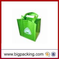 high quality pp non woven beer bag/ laminated non woven bag/non woven bag Resuable customized cheap logo pp non woven bag