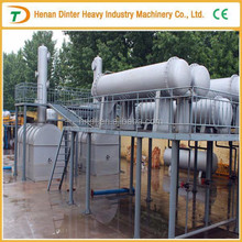 DINTER 20 tons capacity crude oil refinery equipment for sale