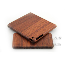 Hotselling wooden design case for ipad mini have 7 years professional technology at luxury housing for iphone trade