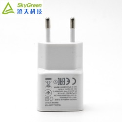 5V 1A/2A portable mobile travel charger,1 USB mobile phone universal usb travel charger for iphone and andriod phone