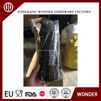 bpa free milk shake shaker bottle protein