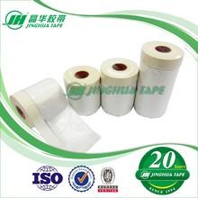(HDPE Plastic Film Splicing Masking Tape) Plastic Masking Film For Car Spraying Masking