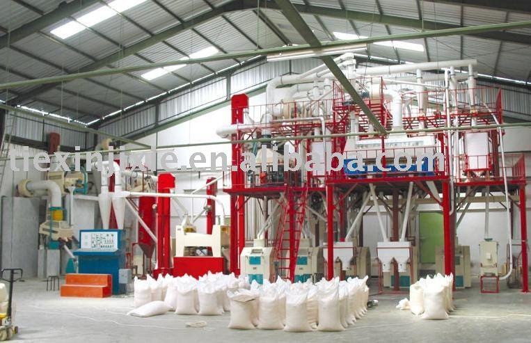 Flour et la semoule mill machine