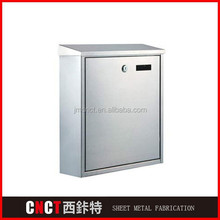 outdoor theftproof steel mailing boxes
