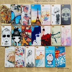 Factory Price Fancy Cartoon Figure Pattern UV Printing TPU Cell Phone Case for Iphone 6 Mobile Phone Case for Iphone 6 Plus Case