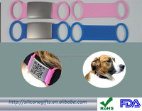 silicone dog tag for dog wholesale