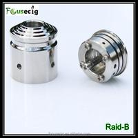 2014 Focusecig atomizer stainless steel rebuildable atomizer Raid-B RDA electronic cigarette dubai