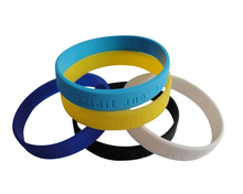 best sell silicone bracelet charms with low price