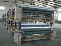 China largest water jet loom in Qingdao fair
