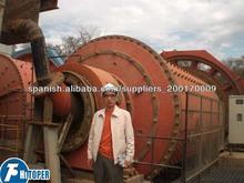 tipo desbordamiento de molienda molino de bola con 46t/h de capacidad