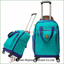 Polyester Material and Suitcase Type travel Trolley Luggage Bag